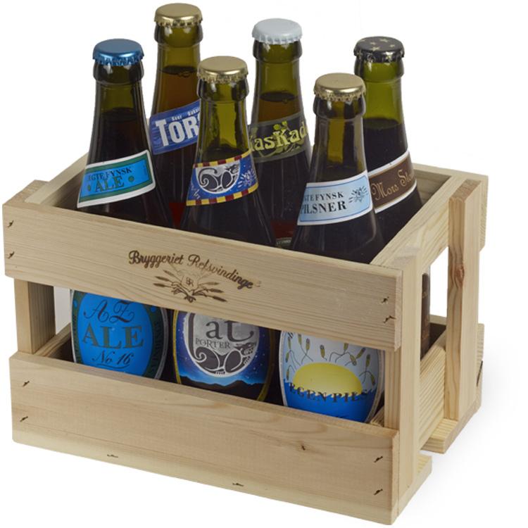 Afholte Gavekasser og glas | Bryggeriet Refsvindinge | Fyn FE-24